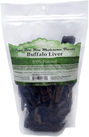 Papa Bow Wow Buffalo Liver Dog Treats alternate img #1