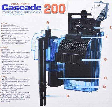 Cascade Power Filter for Aquariums alternate img #4