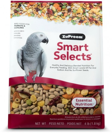 ZuPreem Smart Selects Bird Food for Parrots and Conures alternate img #1