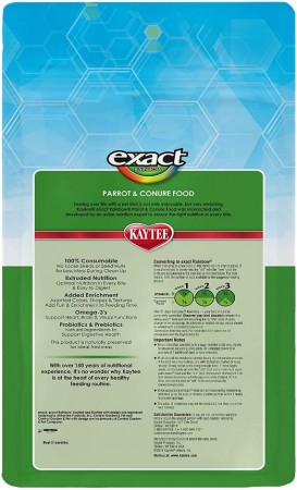 Kaytee Exact Rainbow Optimal Nutrition Diet - Parrot & Conure alternate img #2