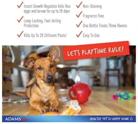 Adams Flea & Tick Home Spray  alternate img #2