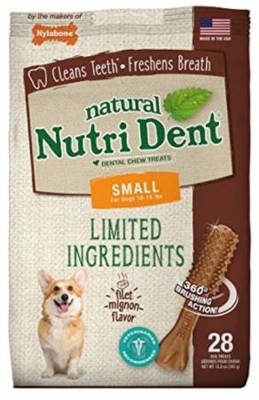Nylabone TFH Nutri Dent Filet Mignon Flavor Dog Chews for Small Dogs alternate img #1