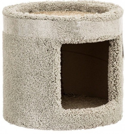 North American Classy Kitty 1 Story Cat Condo Assorted Colors alternate img #2
