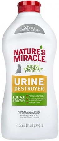Natures Miracle Just For Cats Urine Destroyer alternate img #1