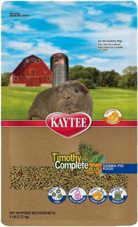 Kaytee Timothy Complete Guinea Pig Food Plus Flowers & Herbs alternate img #1