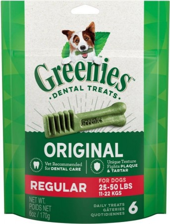 Greenies Regular Dental Dog Treats alternate img #1