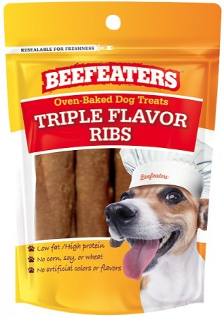 Beafeaters Oven Baked Triple Flavor Ribs Dog Treat alternate img #1