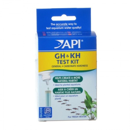 API GH and KH General and Carbonate Hardness Test Kit for Freshwater Aquariums alternate img #1