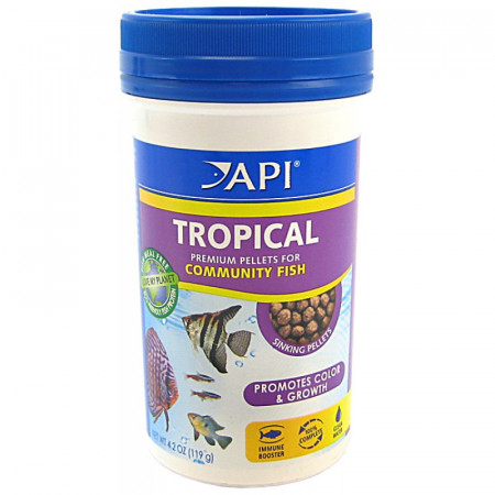 API Tropical Premium Pellets for Community Fish alternate img #1