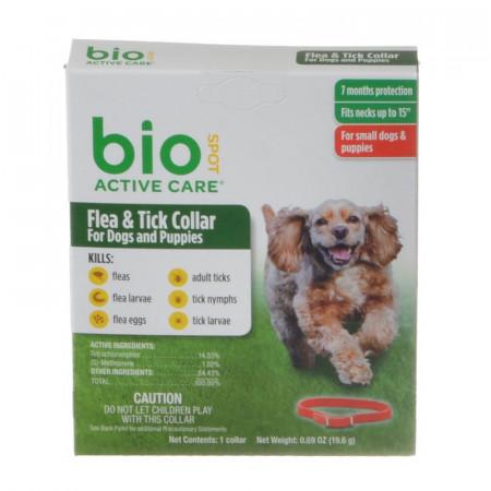Bio Spot Active Care Flea & Tick Collar for Dogs alternate img #1
