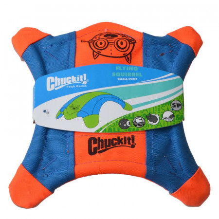 Chuckit Flying Squirrel Toss Toy - Assorted Colors alternate img #1