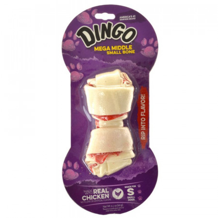 Dingo Double Meat Rawhide Chew - Small alternate img #1