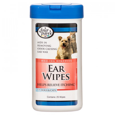 Four Paws Ear Wipes alternate img #1