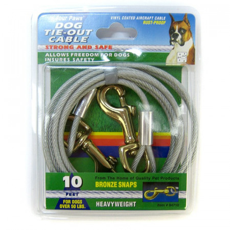 Four Paws Tie-Out Cable - Heavy Weight alternate img #1