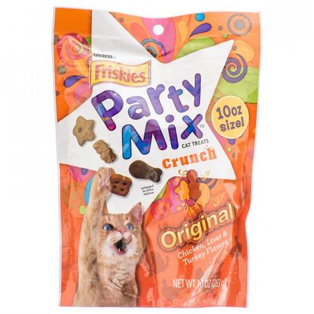Friskies Party Mix Crunch Treats - Original alternate img #1