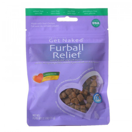Get Naked Furball Relief Natural Cat Treats alternate img #1