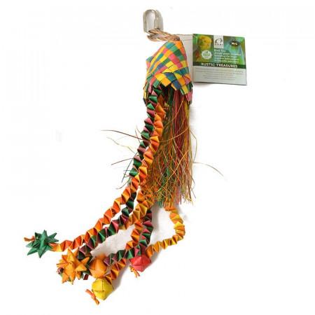 HARI Rustic Treasures Star Basket Bird Toy alternate img #1