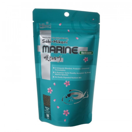 Hikari Saki-Hikari Marine Herbivore Sinking Medium Pellet Food alternate img #1