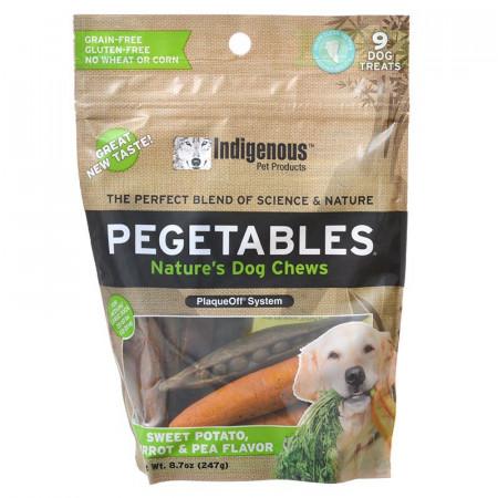Indigenous Pegetables Dog Chews Medium alternate img #1