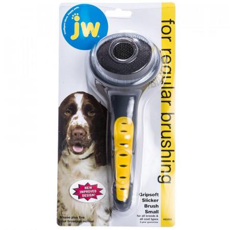 JW GripSoft Slicker Brush alternate img #1