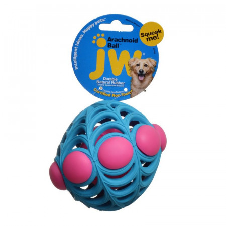JW Pet Arachnoid Ball Squeaker Toy for Dogs alternate img #1