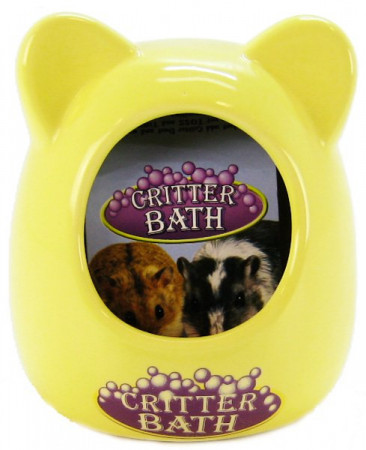 Kaytee Ceramic Critter Bath - Assorted Colors alternate img #1
