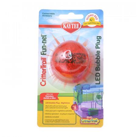 Kaytee Crittertrail LED Bubble Plug - Nighttime alternate img #1
