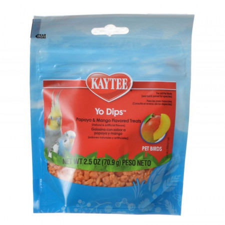 Kaytee Fiesta Yogurt Dipped Papaya - Mango Yogurt alternate img #1