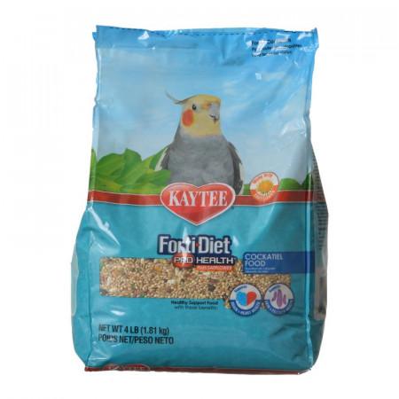Kaytee Forti Diet Pro Health Safflower Healthy Diet - Cockatiel alternate img #1