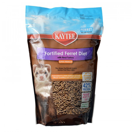 Kaytee Fortified Ferret Diet with Real Turkey alternate img #1