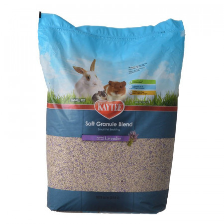Kaytee Soft Granule Blend Small Pet Bedding - Lavender Scent alternate img #1