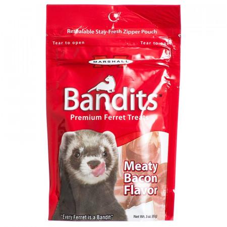 Marshall Bandits Premium Ferret Treats - Bacon Flavor alternate img #1