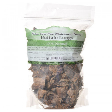 Papa Bow Wow Buffalo Lungs Dog Treats alternate img #1