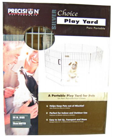 Precision Pet Silver Choice Play Yard Exercise Pen - SXP Model alternate img #1