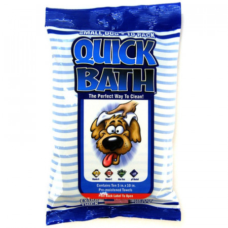 Quick Bath Wipes for Dogs alternate img #1