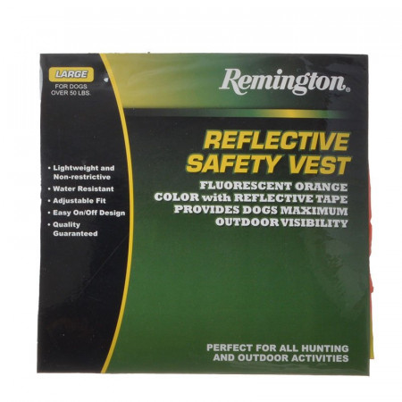 Remington Safety Vest for Dogs - Orange alternate img #1