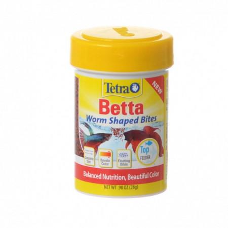 Tetra Betta Worm Shaped Bites alternate img #1