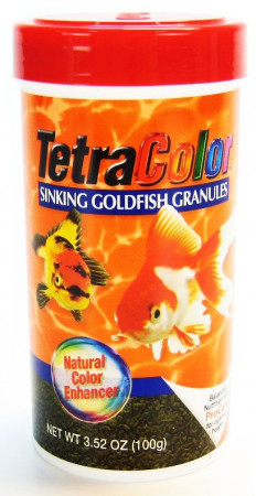 Tetra Color Sinking Goldfish Granules alternate img #2