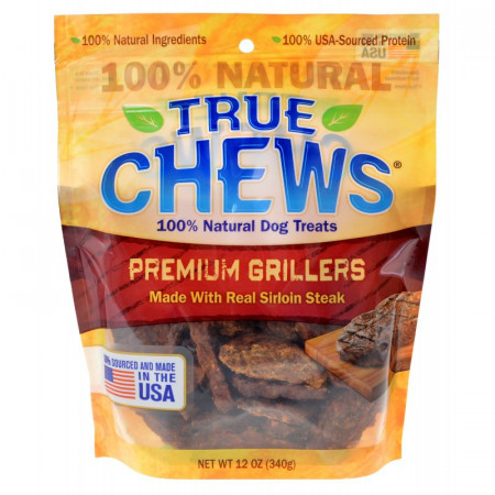 True Chews Premium Grillers with Real Steak alternate img #1