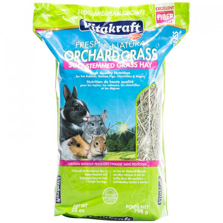 Vitakraft Orchard Grass Soft Stemmed Grass Hay alternate img #1
