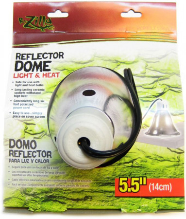 Zilla Reflector Dome with Ceramic Socket alternate img #1