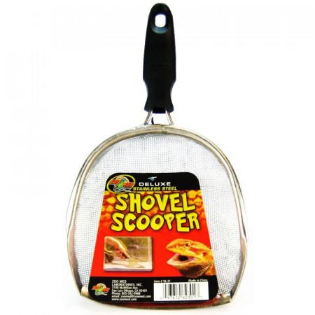 Zoo Med Deluxe Stainless Steel Shovel Scooper alternate img #1
