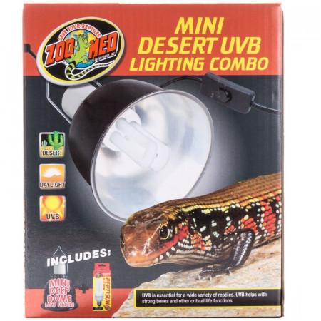 Zoo Med Mini Desert UVB Lighting Combo alternate img #1
