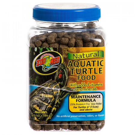 Zoo Med Natural Aquatic Turtle Food - Maintenance Formula alternate img #1