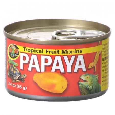 Zoo Med Tropical Fruit Mix-Ins Reptile Food - Papaya alternate img #1