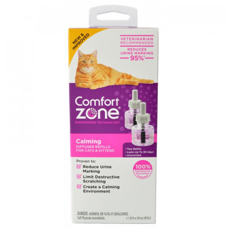 Comfort Zone Calming Diffuser Refill for Cats & Kittens alternate img #1