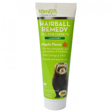 Tomlyn Laxatone Hairball Remedy Gel for Ferrets - Maple Flavor alternate img #1