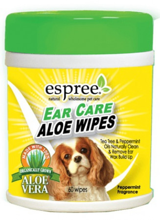 Espree Ear Care Aloe Wipes alternate img #1