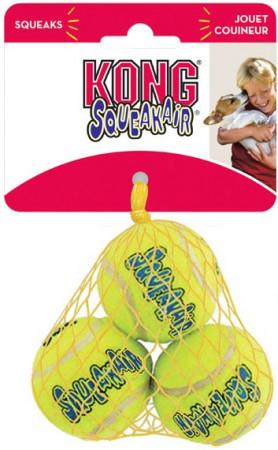 KONG Air Dog Squeakair Tennis Balls alternate img #1