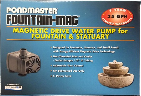 Pondmaster Fountain-Mag Magnetic Drive Water Pump alternate img #1